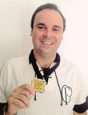 Presidente da Federação Tocantinense de Peteca, Leonardo Luiz Ludovico Póvoa
