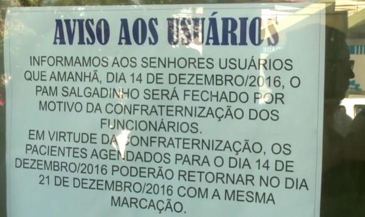 Resultado de imagem para Maior posto médico de Maceió remarca consultas para fazer festa