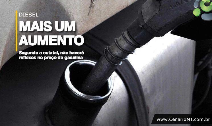 Resultado de imagem para Petrobras anuncia aumento de 6% no preço do diesel nas refinarias