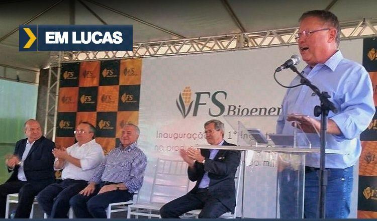 Inaugurada a primeira usina brasileira de etanol de milho
