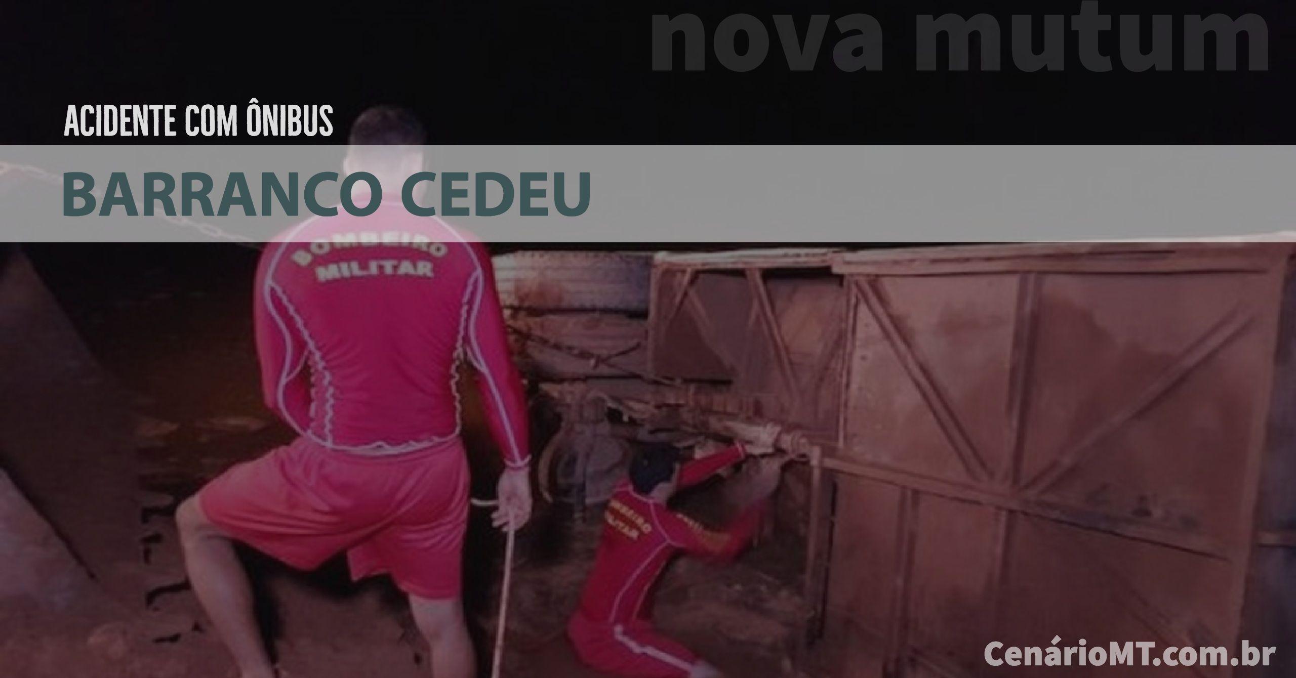 Ônibus com vários trabalhadores cai dentro de represa em Nova Mutum