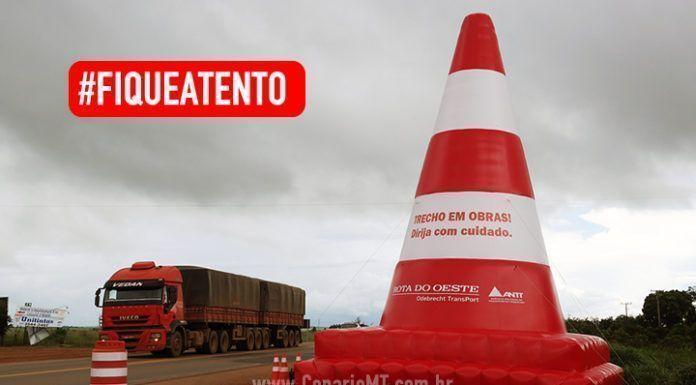 Alerta nas rodovias de Mato Grosso