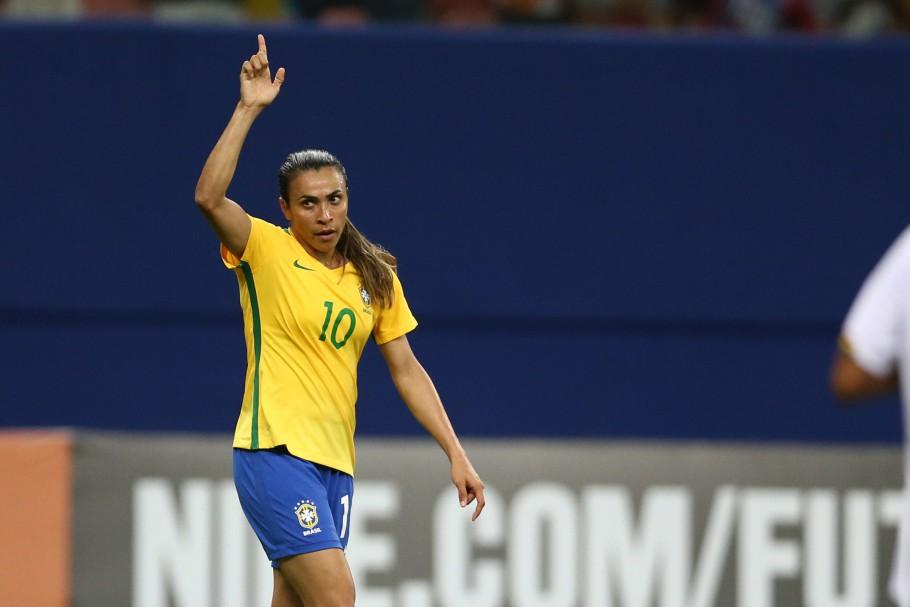 Atacante Marta é homenageada na Calçada da Fama do Maracanã - CenárioMT 856f1357e588f