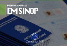 Vagas de emprego em Sinop