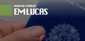 VAgas de emprego em Lucas do Rio Verde
