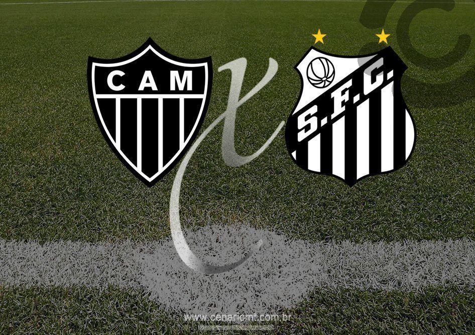 Resultado de imagem para atletico mg e santo copa do brasil 2019[