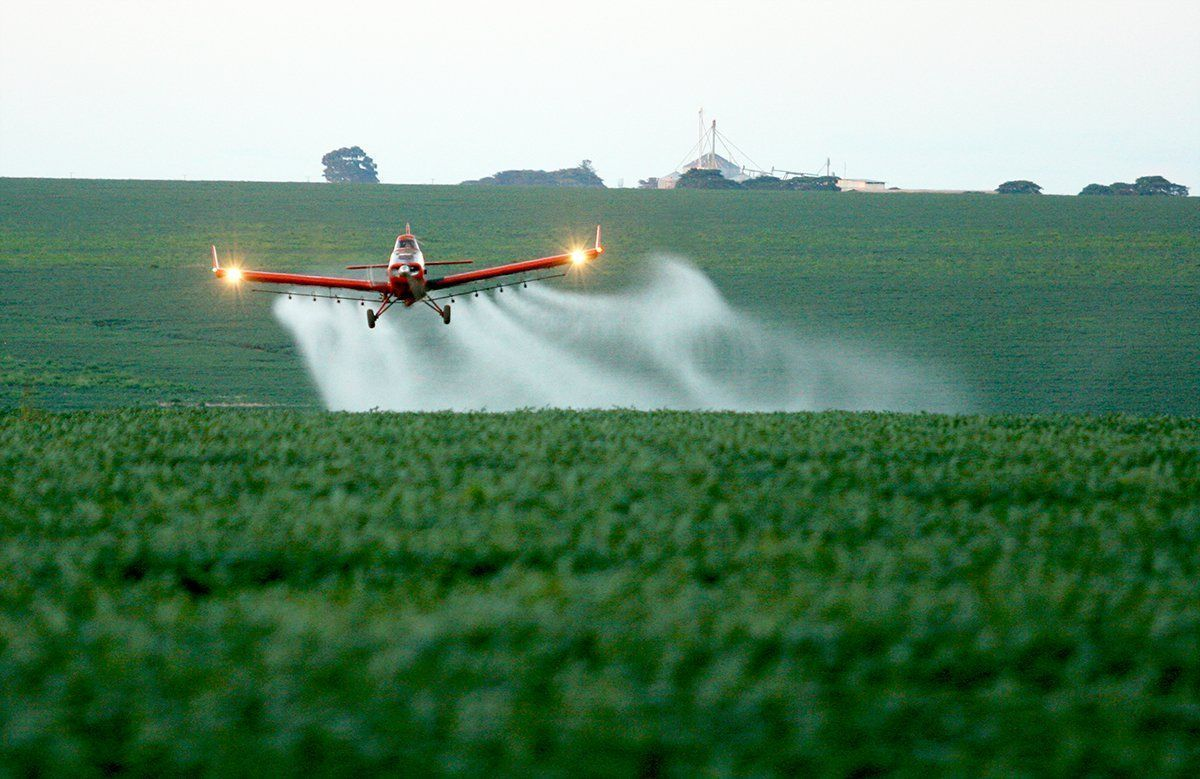 """Resultado de imagem para Proibir aplicação aérea de defensivos pode prejudicar produção agrícola"""", afirma aviador"""