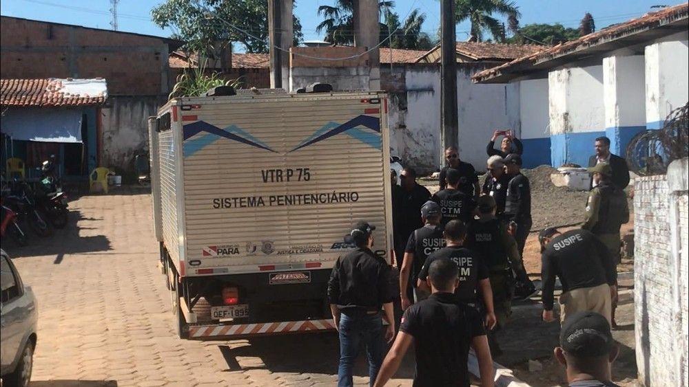 Resultado de imagem para Quase metade dos presos mortos no Pará aguardavam julgamento