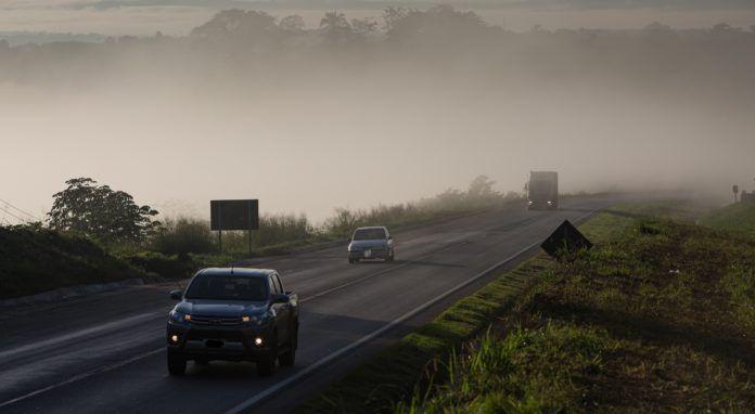 Neblina em Mato Grosso
