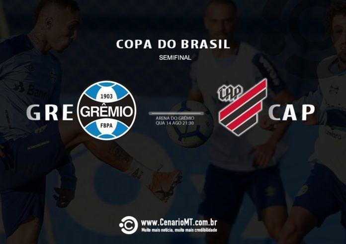 Grêmio e Athletico se enfrentam na noite desta quarta-feira, na Arena do clube gaúcho, em Porto Alegre, pelo confronto de ida da semifinal da Copa do Brasil.