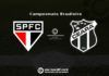 São Paulo x Ceará: tudo o que você precisa saber sobre o jogo da rodada #15