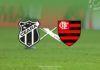 Ceará e Flamengo se enfrentam neste domingo, às 19h, no Castelão.