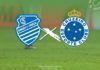 CSA e Cruzeiro entram em campo logo mais pela 16ª rodada do Brasileirão. A partida será disputada às 19h no estádio Rei Pelé, em Maceió.