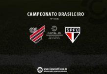 Jogo entre Athletico e São Paulo, na Arena, fica sem transmissão de TV