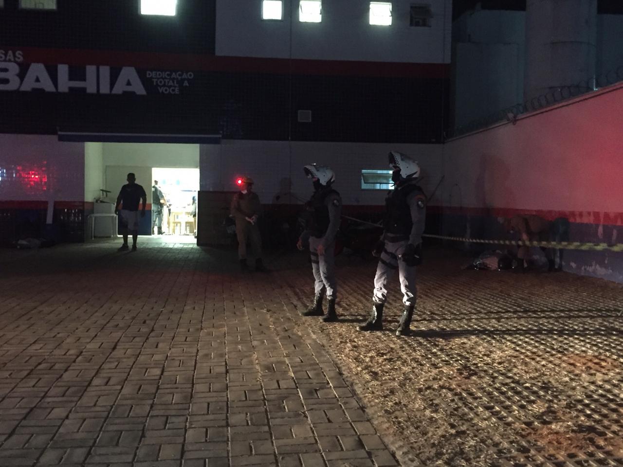 Bandido morre e dois são presos depois de assalto em Lucas 2