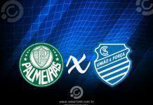 Onde assistir Palmeiras x CSA