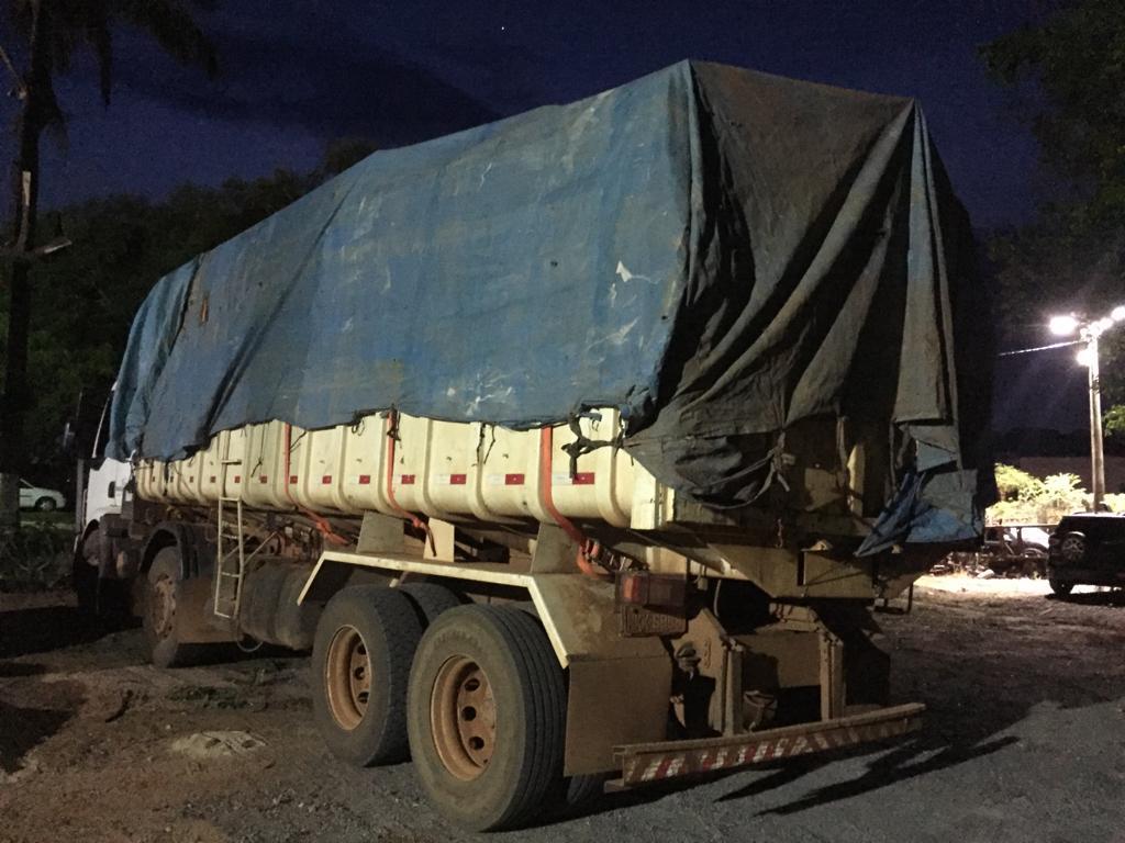Caminhão com madeira ilegal é apreendido em Lucas do Rio Verde - CenárioMT