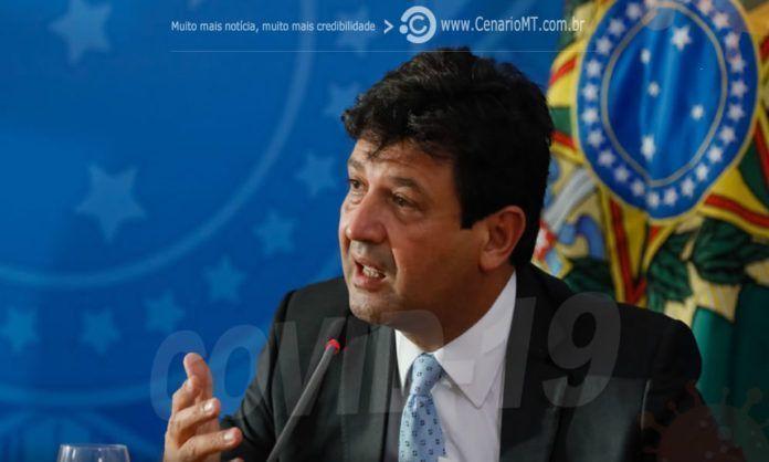 Ministro Luiz Henrique Mandetta (Saúde)