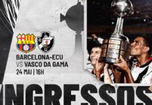 Barcelona x Vasco