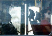 transporte municipal onibus passageiros