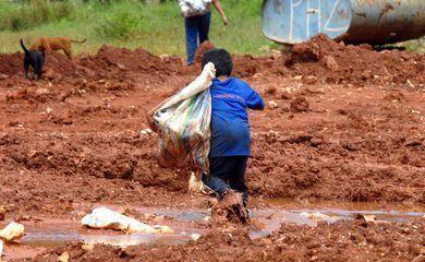 Campanha contra trabalho infantil