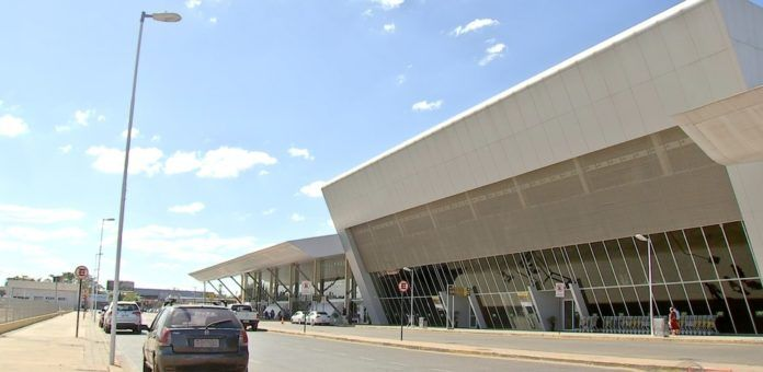 Aeroporto Marechal Rondon, em Várzea Grande — Foto: Reprodução/TVCA