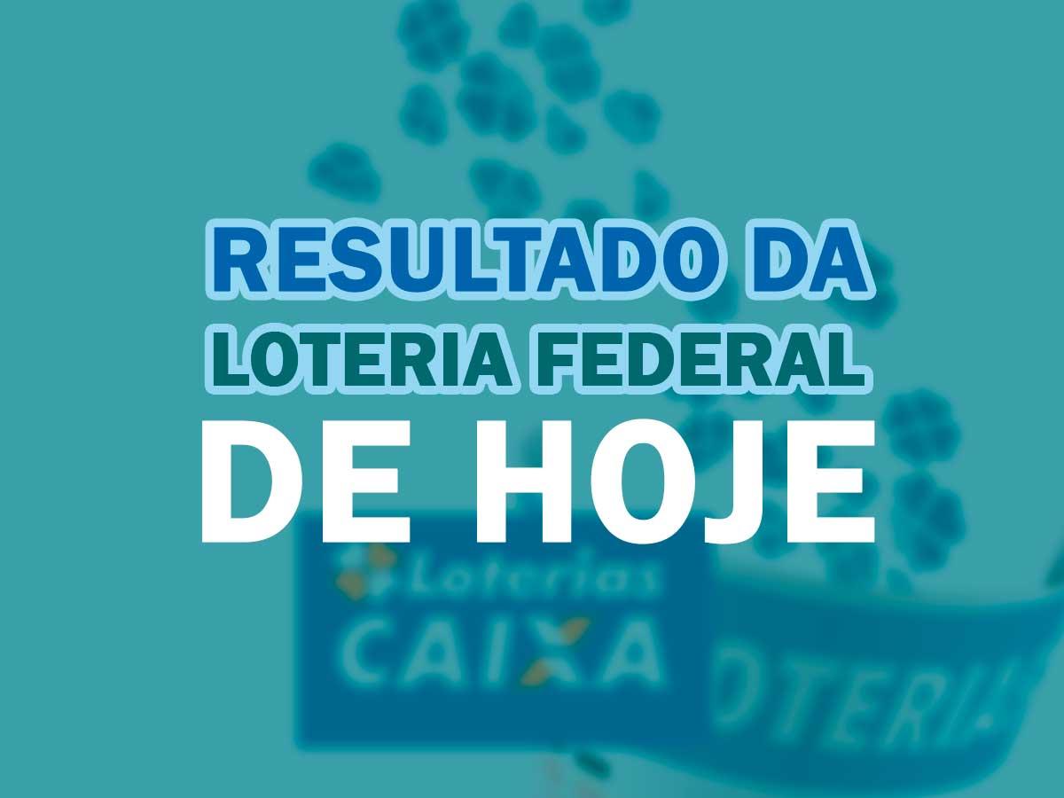 Loteria Federal: Caixa anuncia hoje resultado do concurso 5482  (01/08/2020); Veja