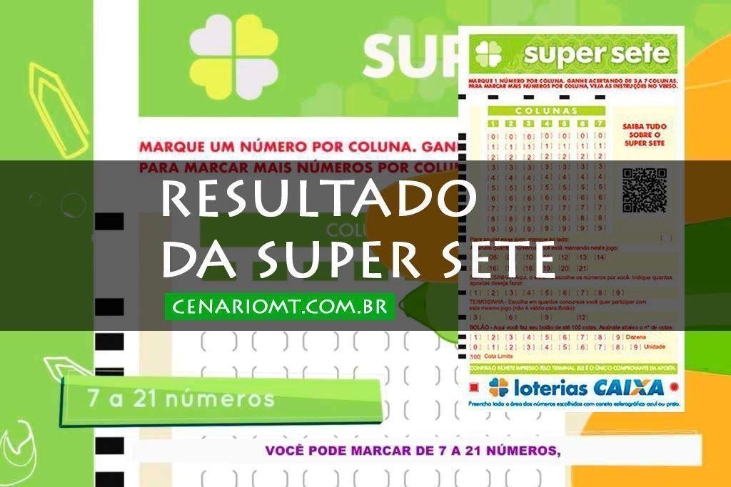 Resultado da Super Sete: concurso 3 desta quarta-feira (07/10/2020); confira