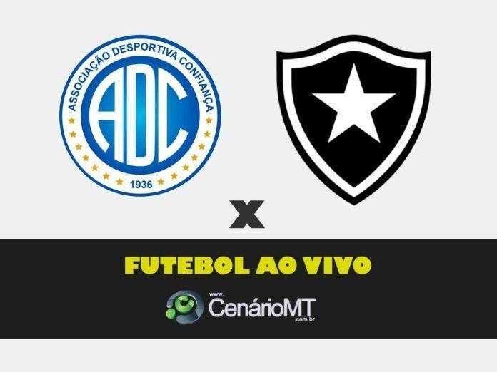 futebol ao vivo jogo do confiança x botafogo futmax futemax fut max fute max tv online internet hd