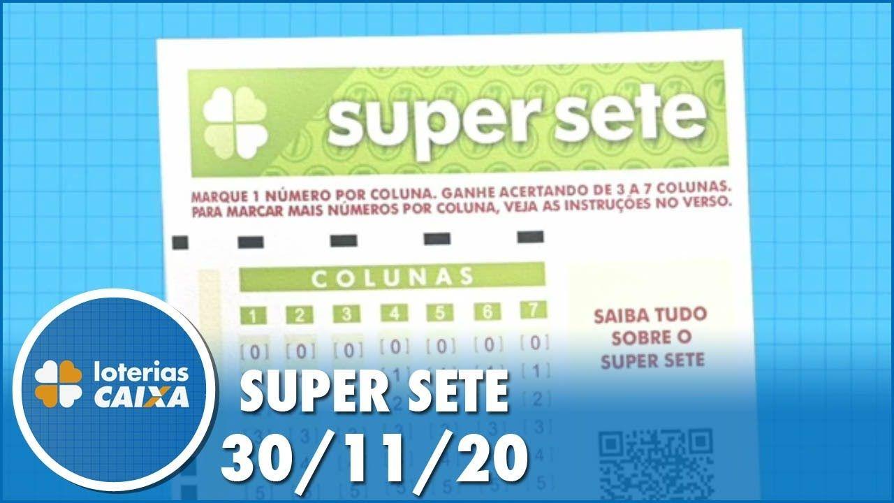 Confira o sorteio da Super Sete do concurso 24